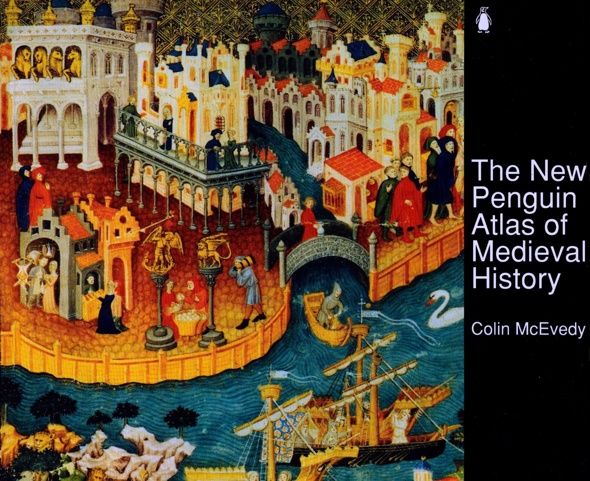 The New Penguin Atlas of Medieval History Hist Atlas: Amazon.es ...