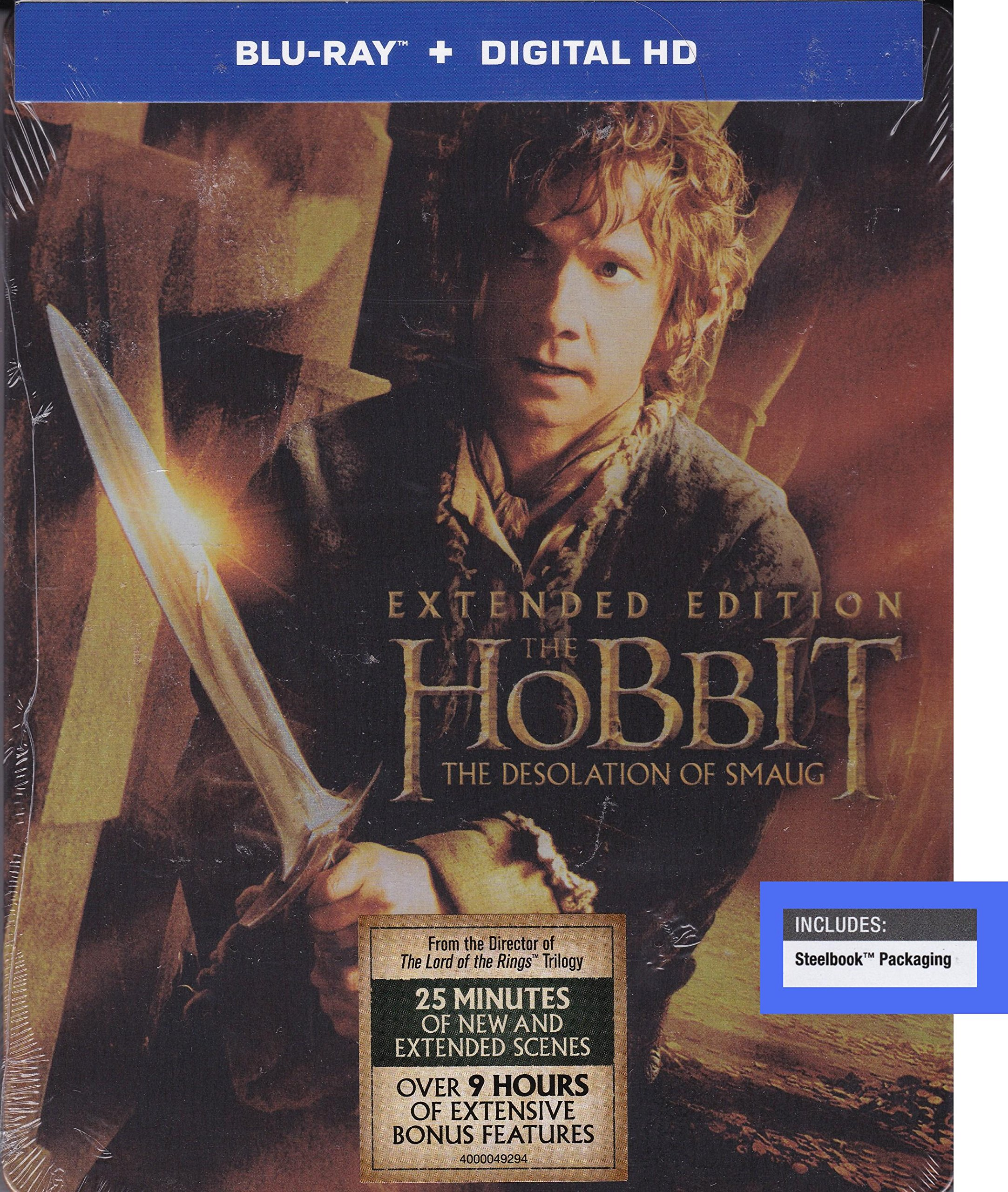 Blu-ray : Hobbit: The Desolation of Smaug Extended Edition S