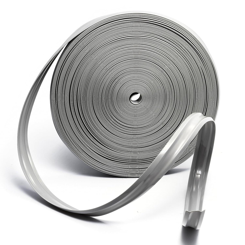 Camco 25192 Vinyl Trim Insert 1 x 100, Beige