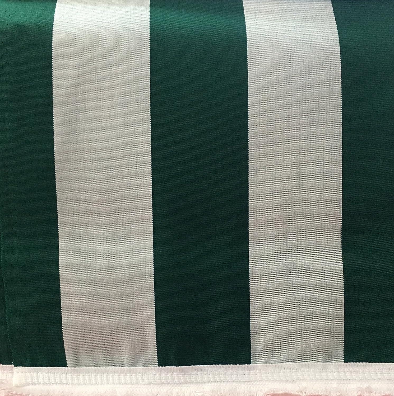 Panini Tessuti Rideau pare-soleil /à rayures avec frange et anneaux brevet/és en acrylique Dralon dimensions : 140 x 250 cm divers coloris disponibles gris 140 x 300 cm