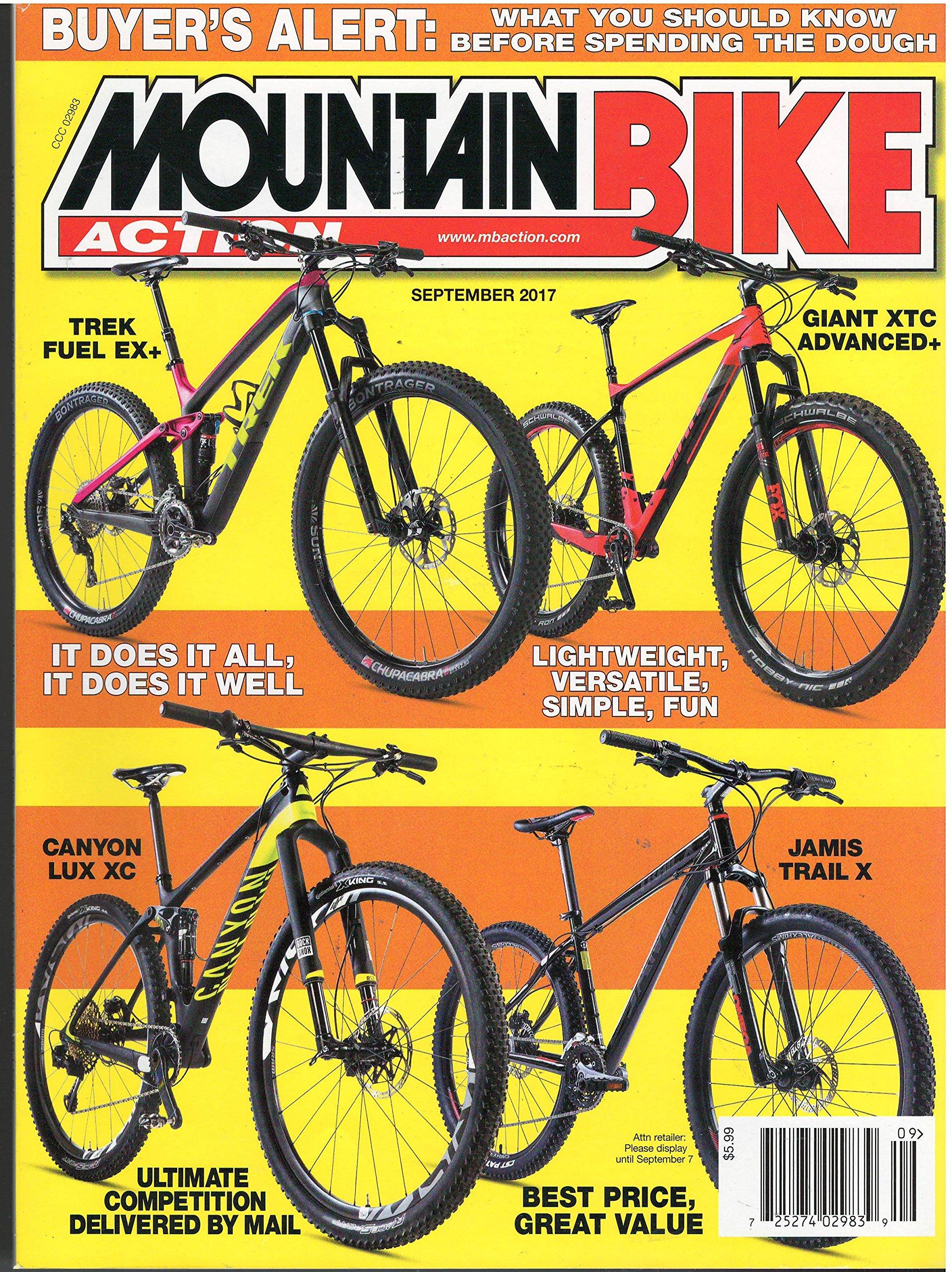 Download Mountain Bike Action September 2017 pdf epub