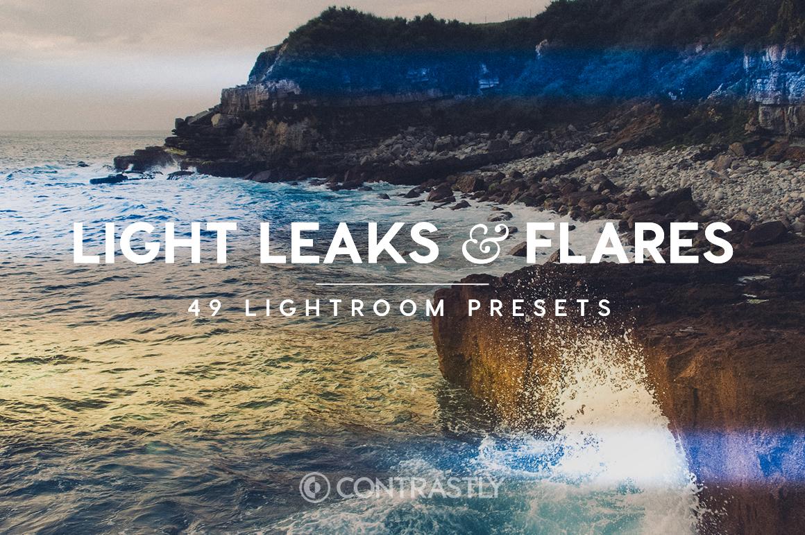 Leaks Leaks & Flares Lightroom Presets [Download]