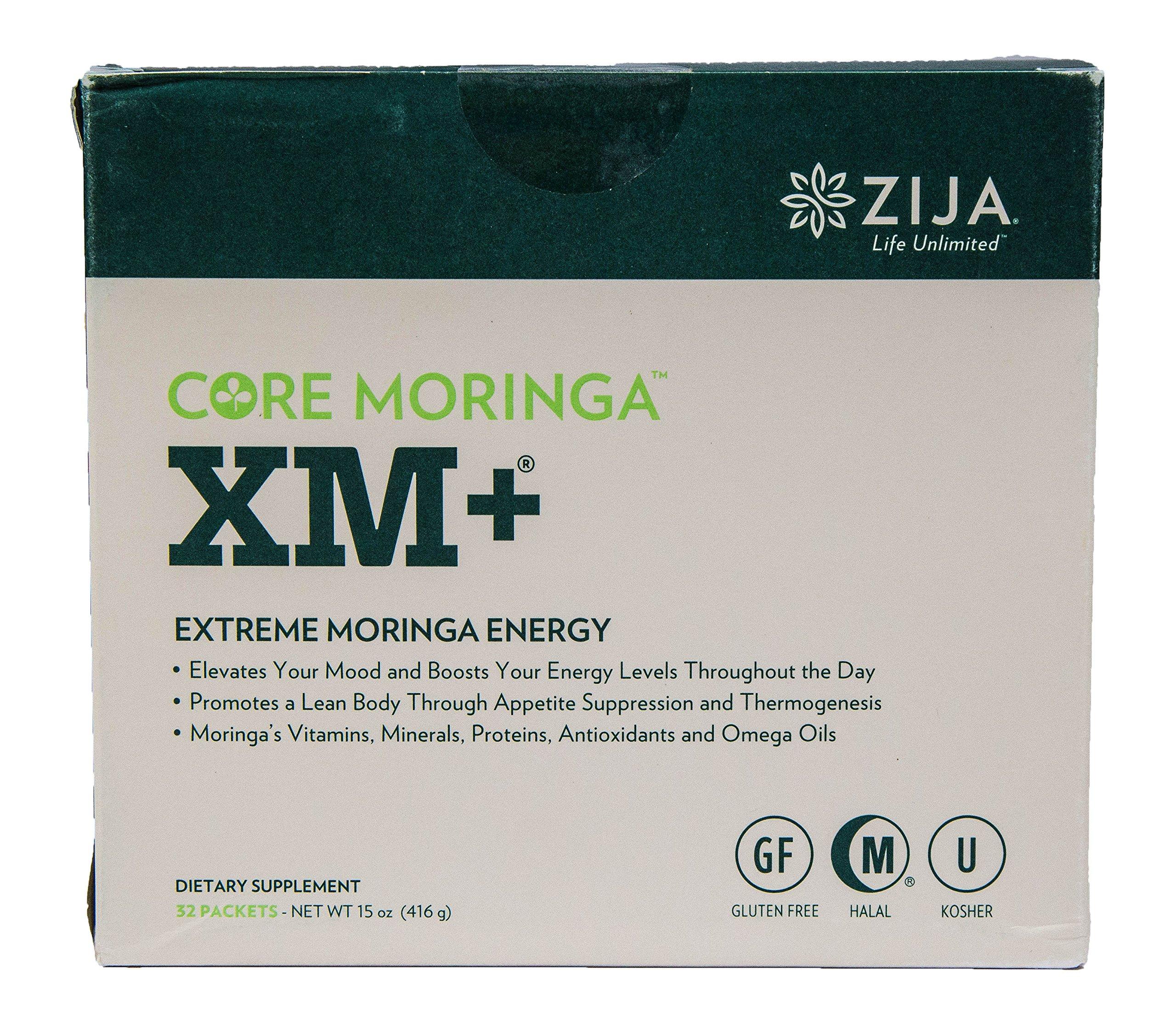 Zija International Core Moringa XM+ Extreme Moringa Energy 32 Packets