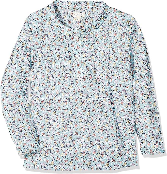 Gocco Camisa Liberty Blusa, Azul (Turquesa Brillante), 4-5 años para Niñas: Amazon.es: Ropa y accesorios