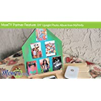 MomTV Partner Feature: DIY Upright Photo Album from MyPrintly