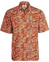 Artisan Outfitters Mens Surfboard Longboard Batik Cotton Hawaiian Shirt