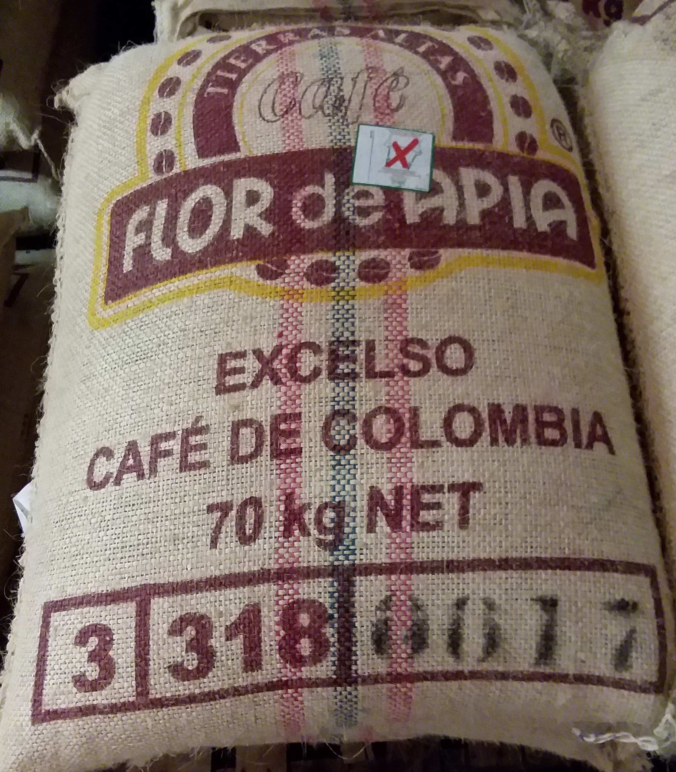 Unroasted Colombian Green Coffee Beans Single Origin Farm El Nivel (50 Lb)