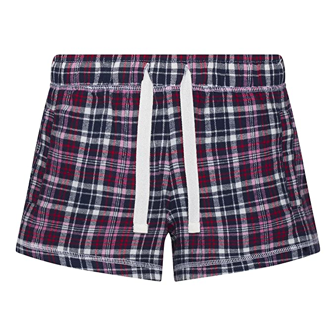 Comfy Co - Pijama - para Mujer Azul Navy/Pink X-Small