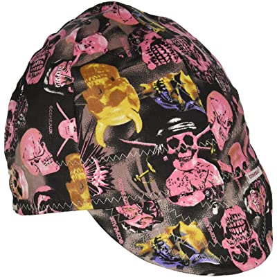 "Comeaux Caps 118-2000R-8 Deep Round Crown Caps, 8"", Assorted Prints: Hardhats: Industrial & Scientific"