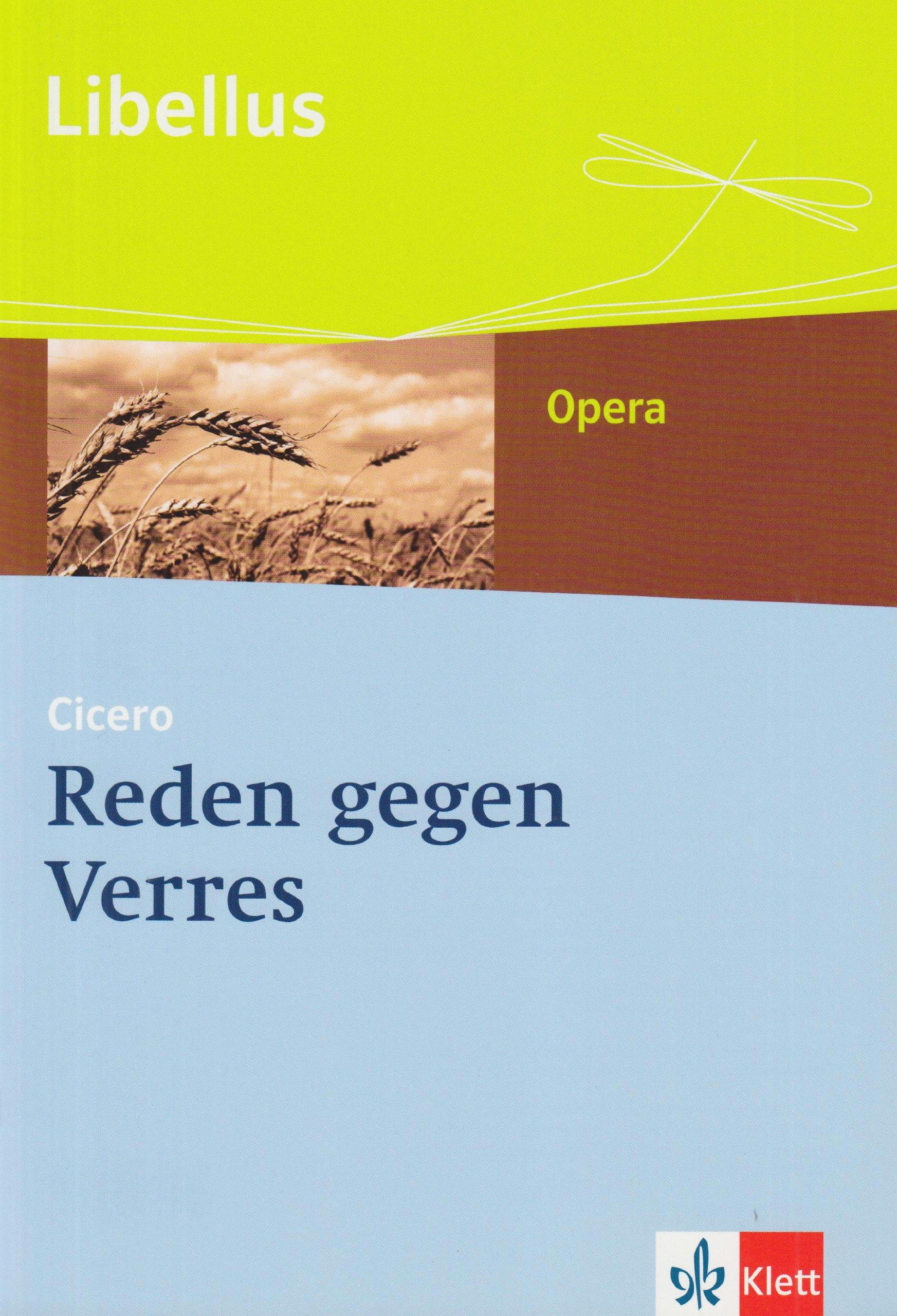 Reden gegen Verres: Textausgabe Klassen 10-13 (Libellus - Opera)