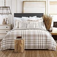 TOMMY HILFIGER 034491th006Gama Plaid Comforter Set Gris Topo, King