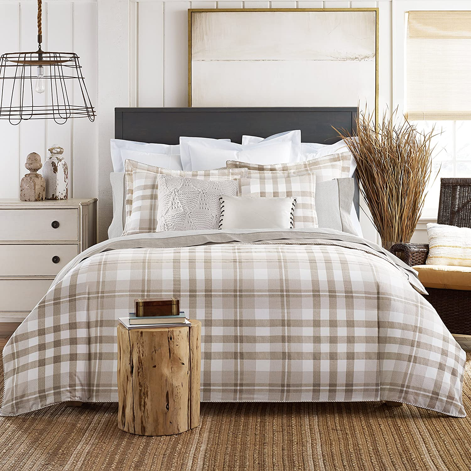 buffalo nautica bedding set size tartan comforter full checkered blue black queen green of sets satin plaid bedspreads white and