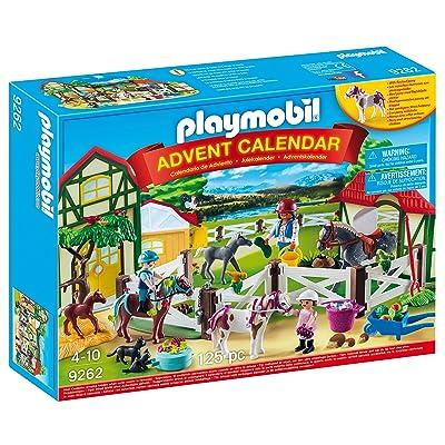 PLAYMOBIL Advent Calendar - Horse Farm: Toys & Games