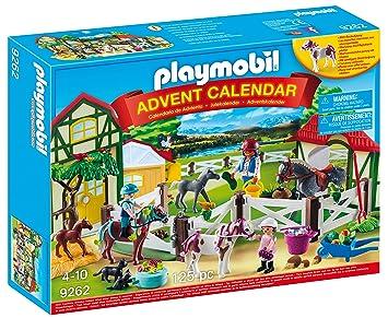 Playmobil Calendario de Adviento-9262 Granja de Caballos (9262): Amazon.es: Juguetes y juegos