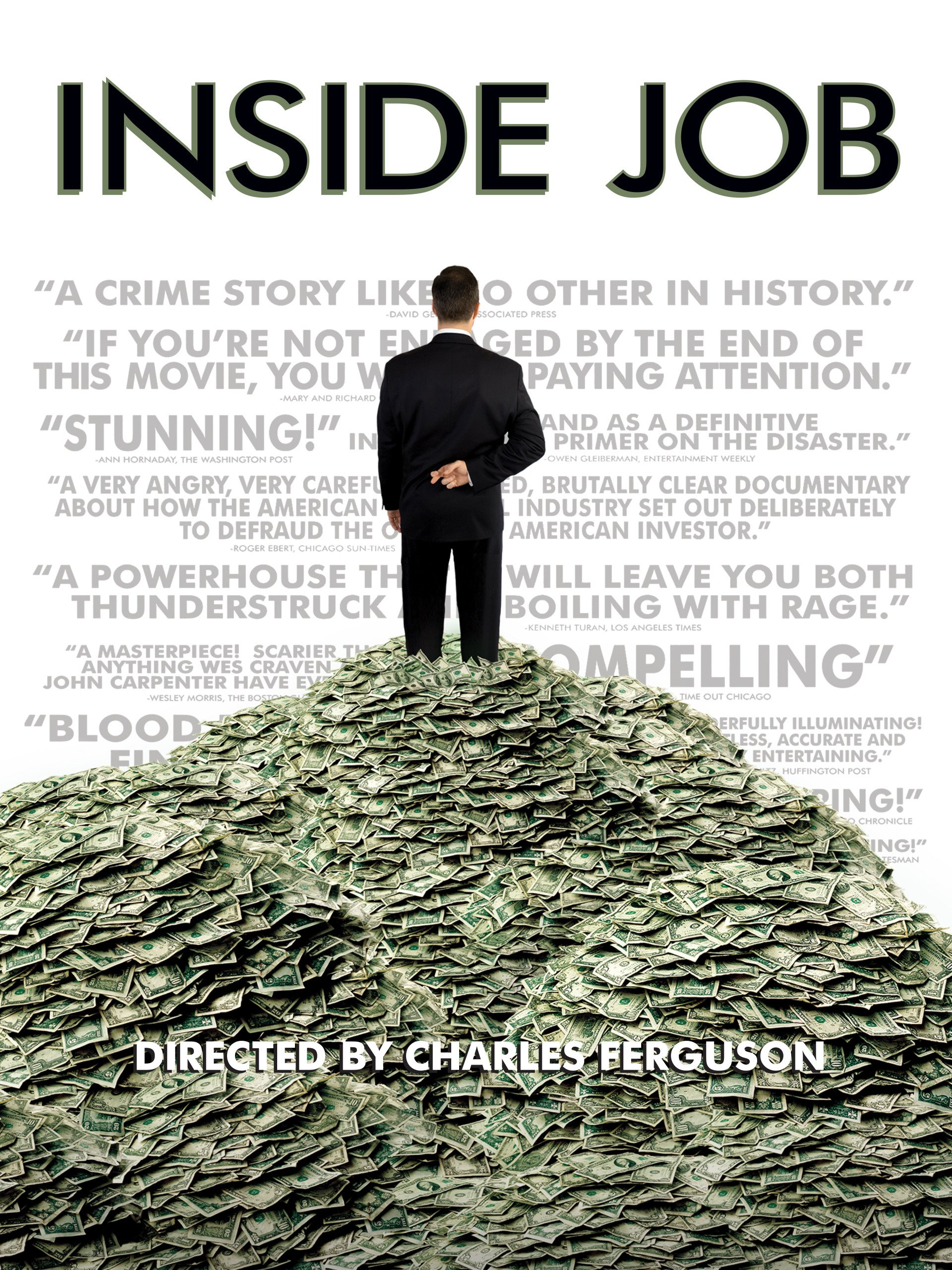 Inside Job : Watch Online Now With Amazon Instant Video: Matt Damon,  William Ackman