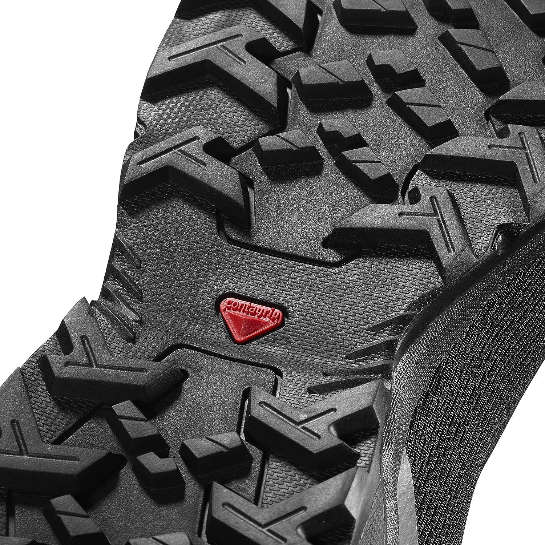 Salomon Men's Hiking Shoe Black/Black/Quiet Shade