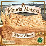 Yehuda Whole Wheat Matzo 10.5oz (5 Pack) Great Value!