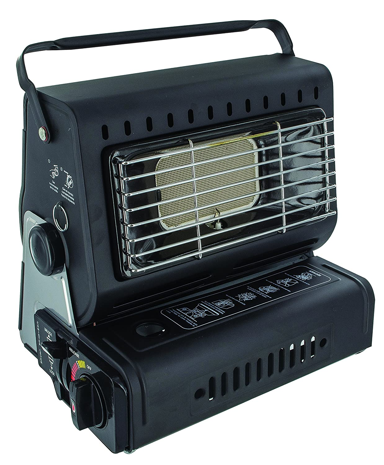 Highlander Mens Portable Compact Lightweight Camping Gas Heater GAS009
