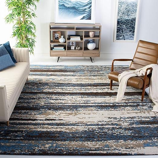 Amazon Com Safavieh Retro Collection Ret2138 1165 Modern Abstract
