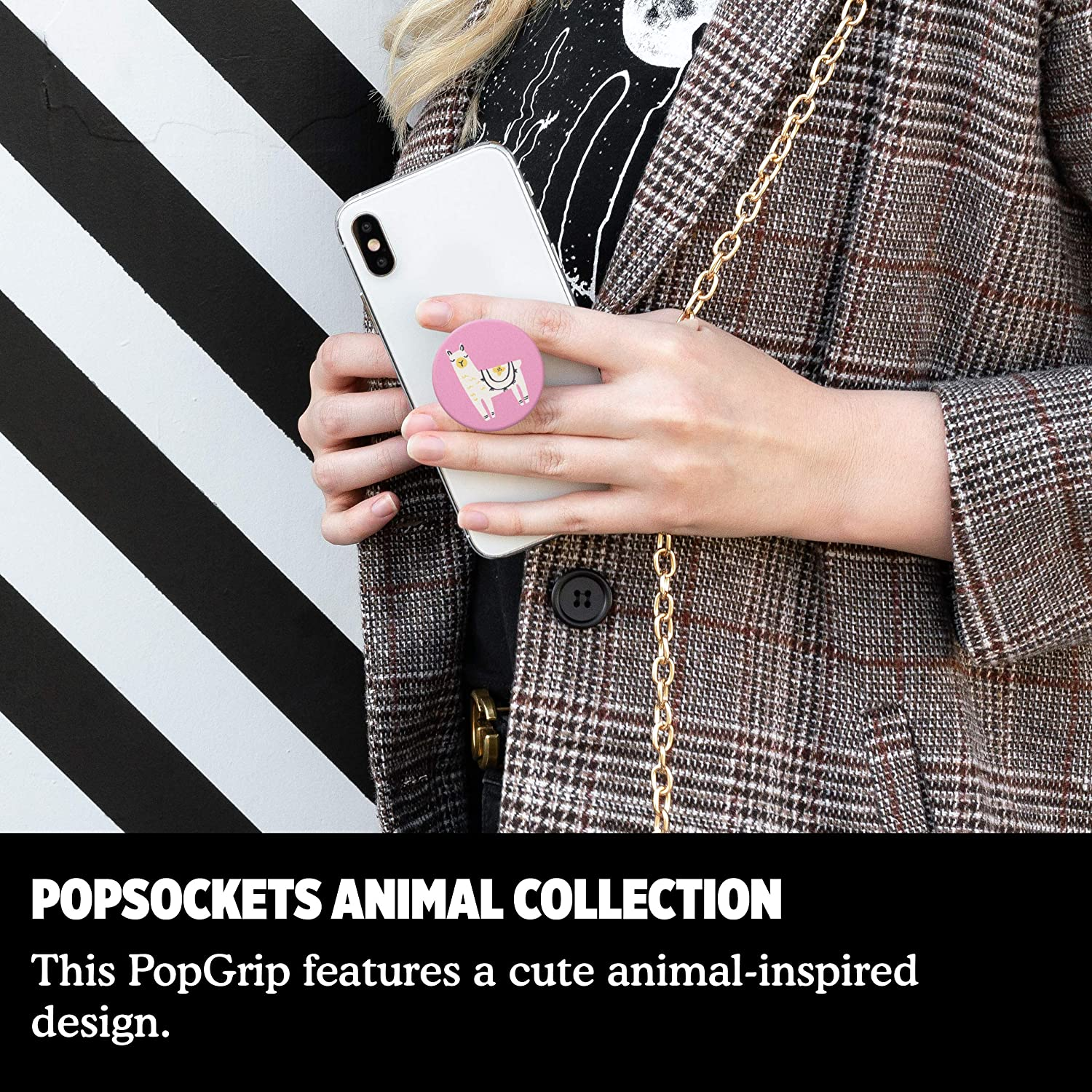Swappable Grip for Phones /& Tablets PopSockets PopGrip Aivary