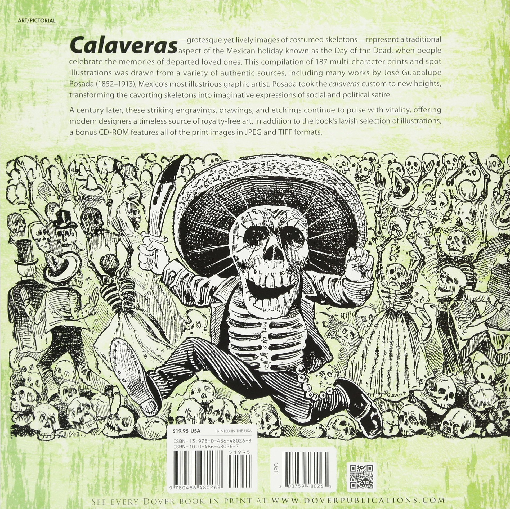The Day Of Dead A Pictorial Archive Dia De Los Muertos Dover Jean Moss 9780486480268 Amazon Books