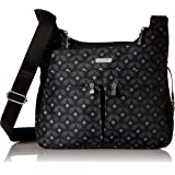 Baggallini Cross Over Crossbody Bag - Lightweight, Water Resistant Travel Purse