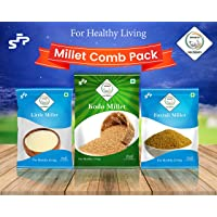Swasth millet combo pack of 3 (LM KM FM)