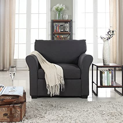 Amazon.com: DIVANO ROMA FURNITURE Classic and Traditional Linen ...
