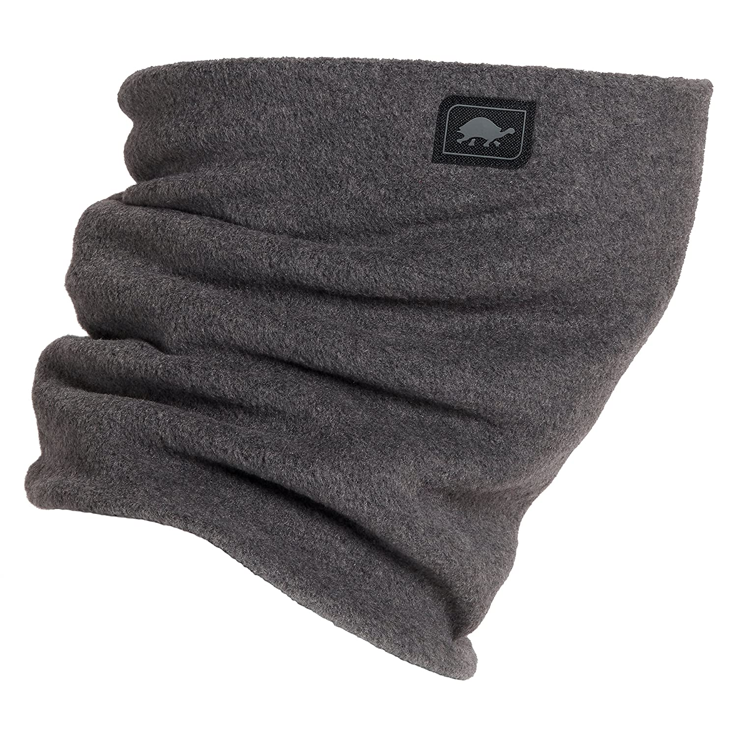 Turtle Fur Double-Layer Neck Warmer, Chelonia 150 Fleece, Charcoal FBA_10136429