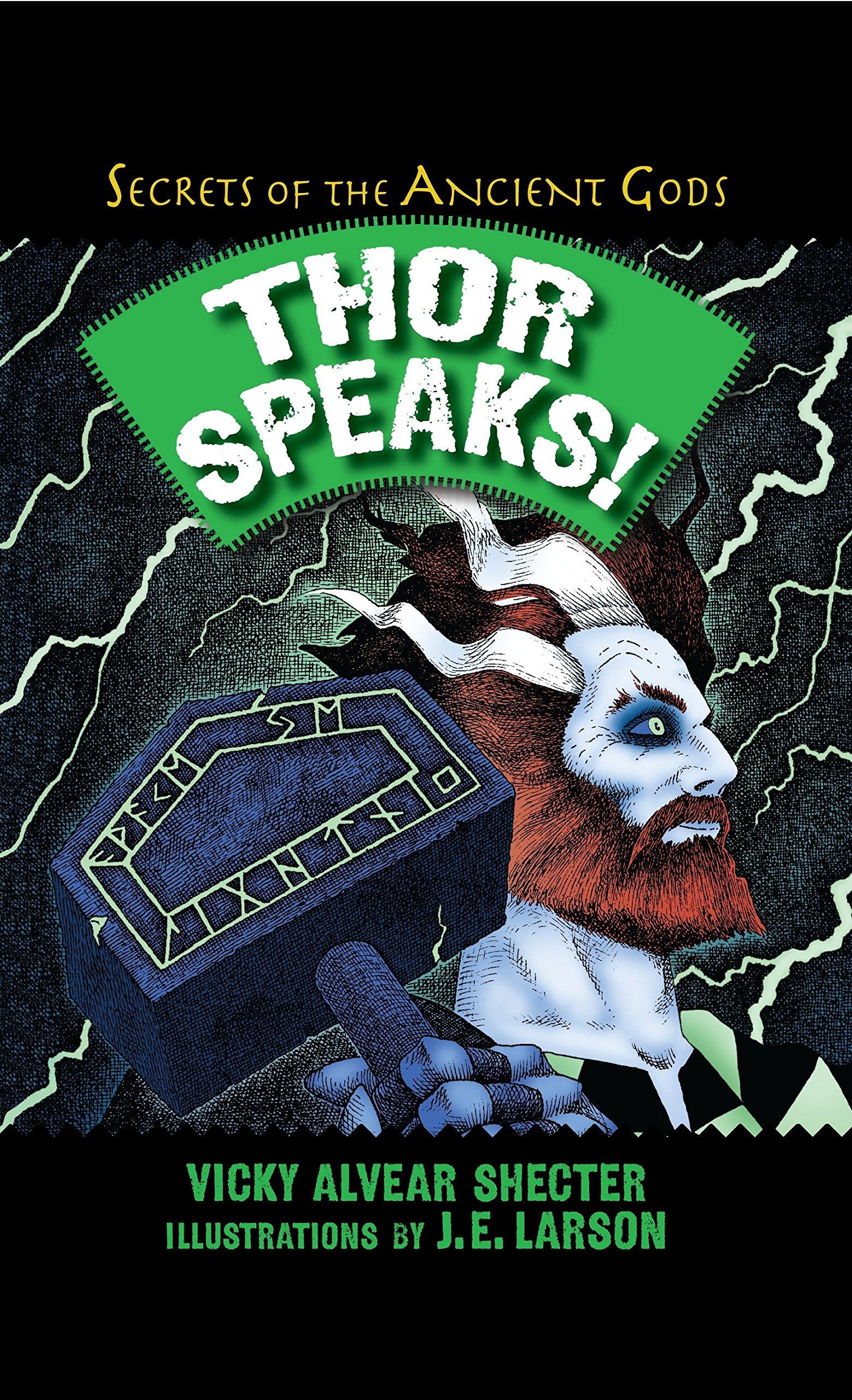 Thor Speaks!: A Guide to the Realms by the Norse God of Thunder (Secrets of the Ancient Gods) by Boyds Mills Press (Image #1)
