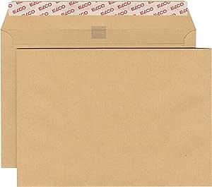 Elco 62480 - Caja de 500 sobres sin ventana (C5), color marrón ...