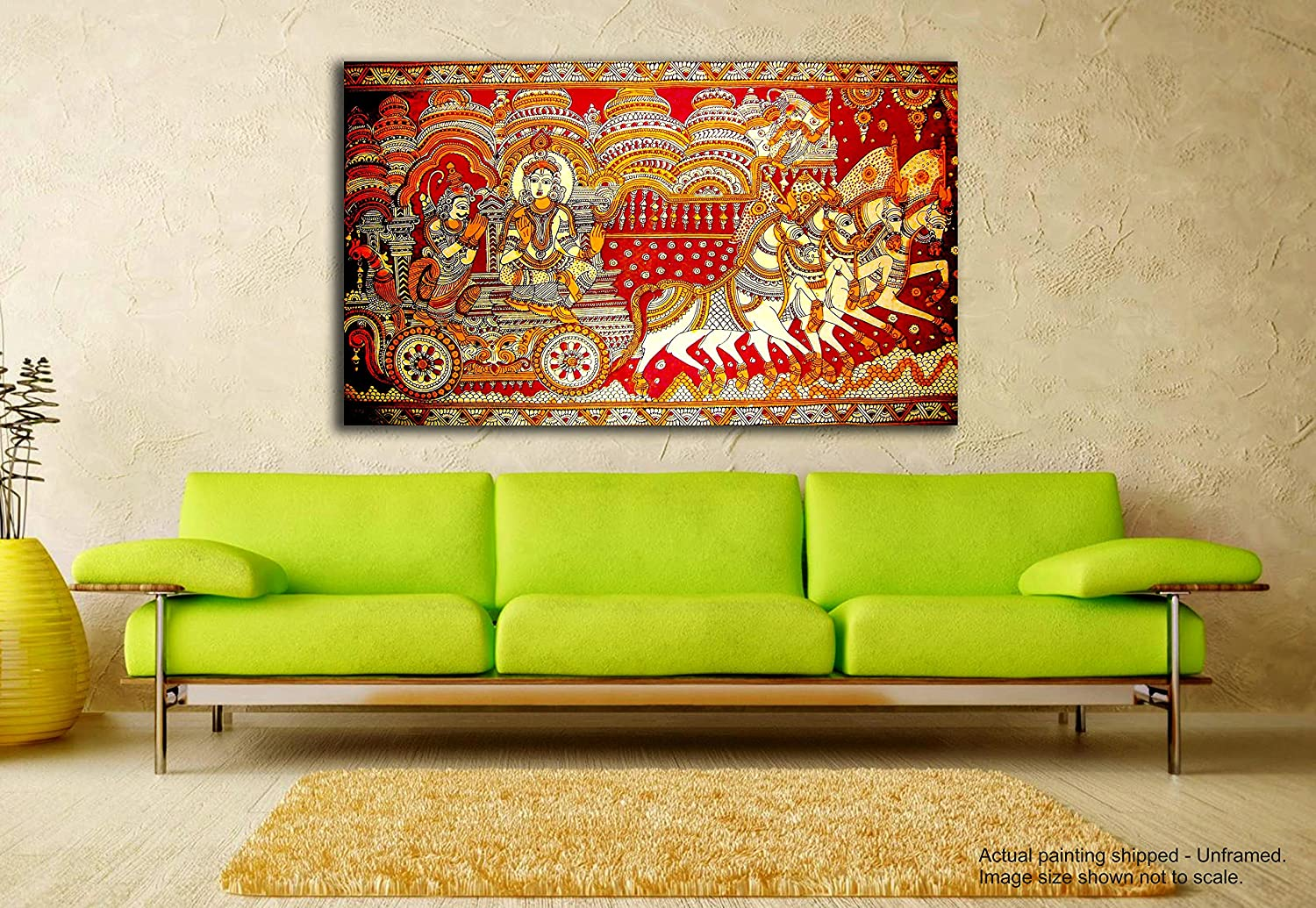 Madhubani art Paintings for living room – mydealforme