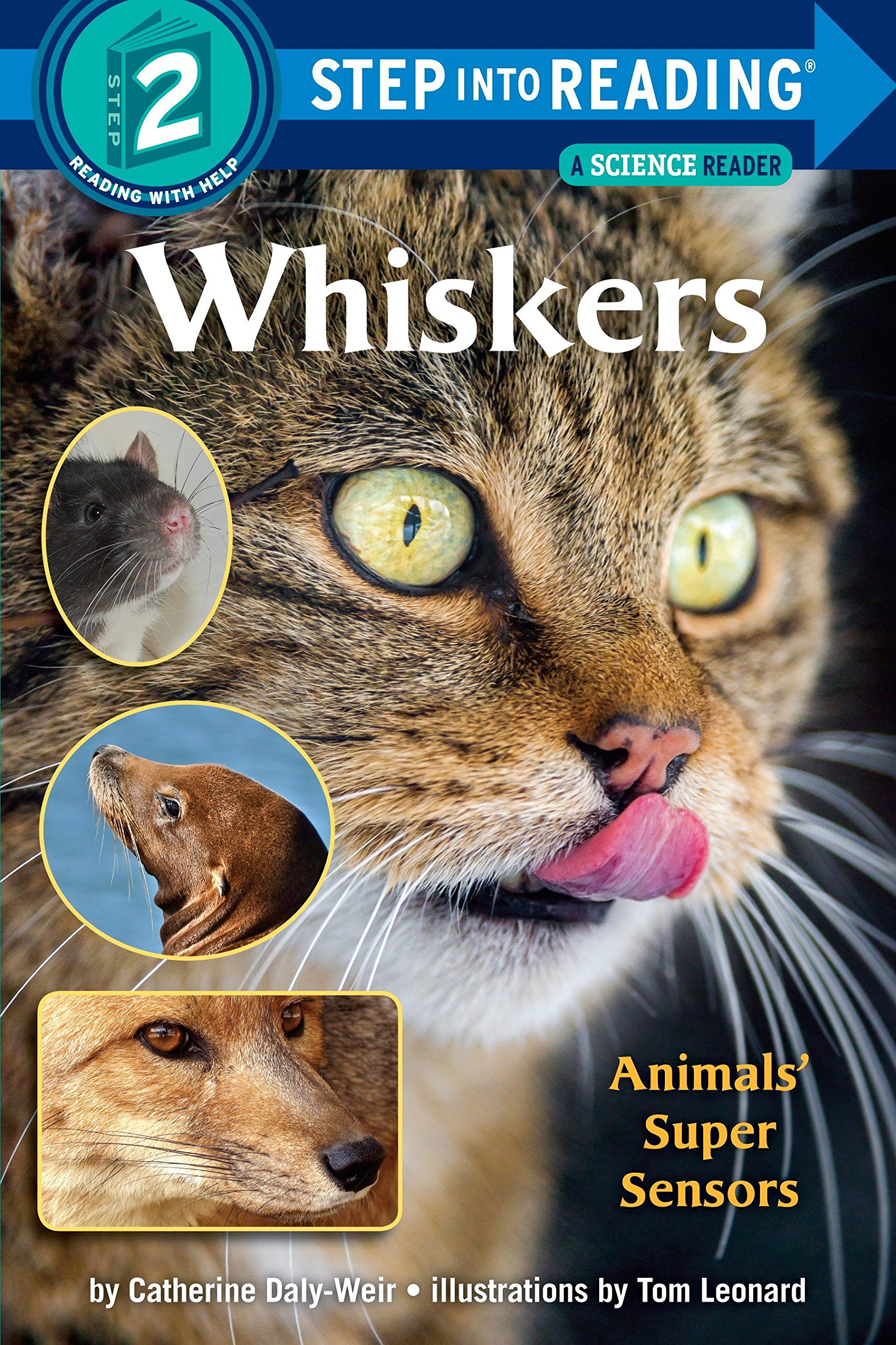 Amazon.com: Whiskers (Step-Into-Reading, Step 2) (9780307262141): Catherine  Daly-Weir, Tom Leonard: Books