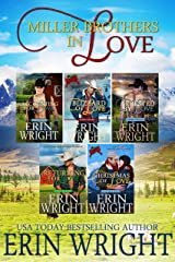 Miller Brothers in Love: A Long Valley Western Romance Boxset – Books 1 - 5 Kindle Edition
