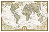 World Executive, Tubed: Wall Maps World (National Geographic Guidemap for States)