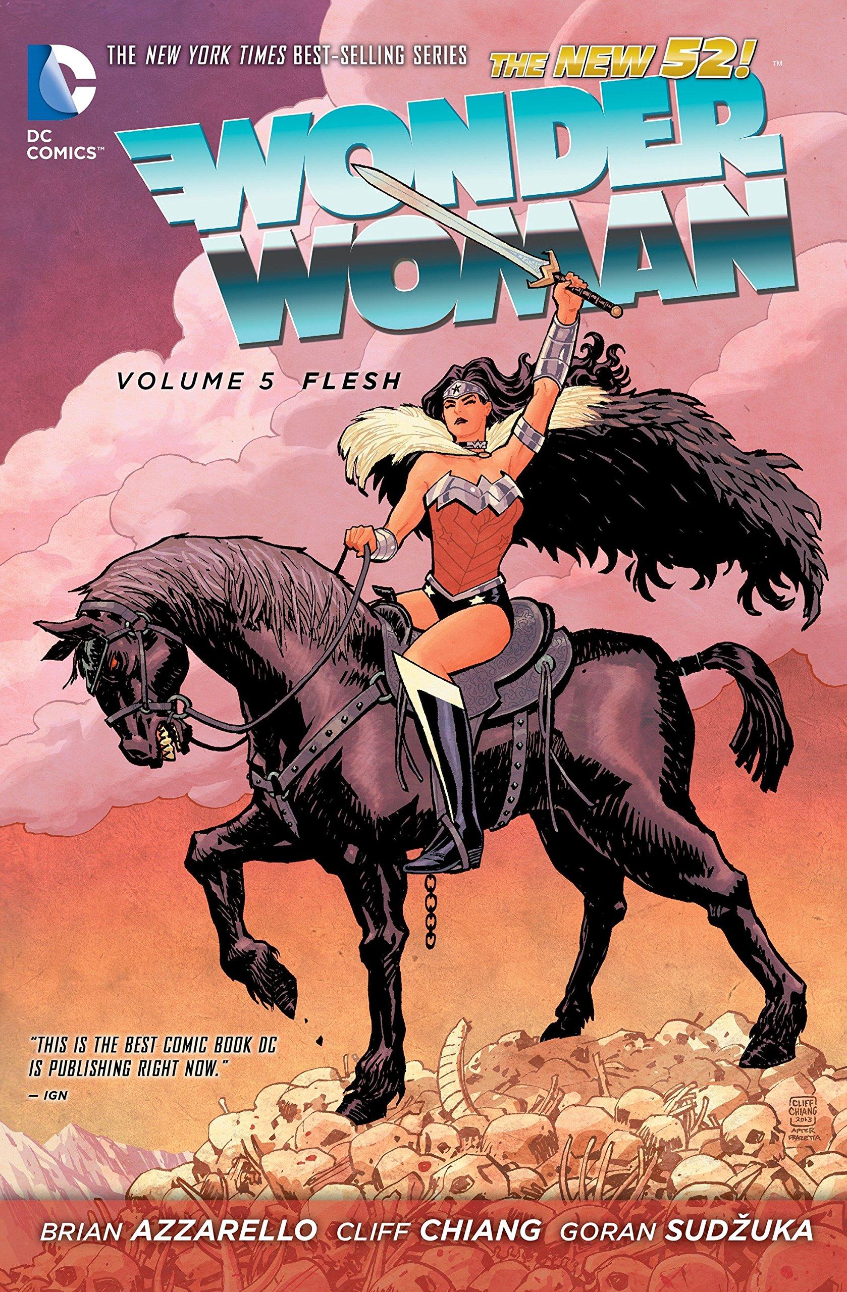 Wonder Woman Vol. 5: Flesh (The New 52) (Wonder Woman - the New 52) by imusti