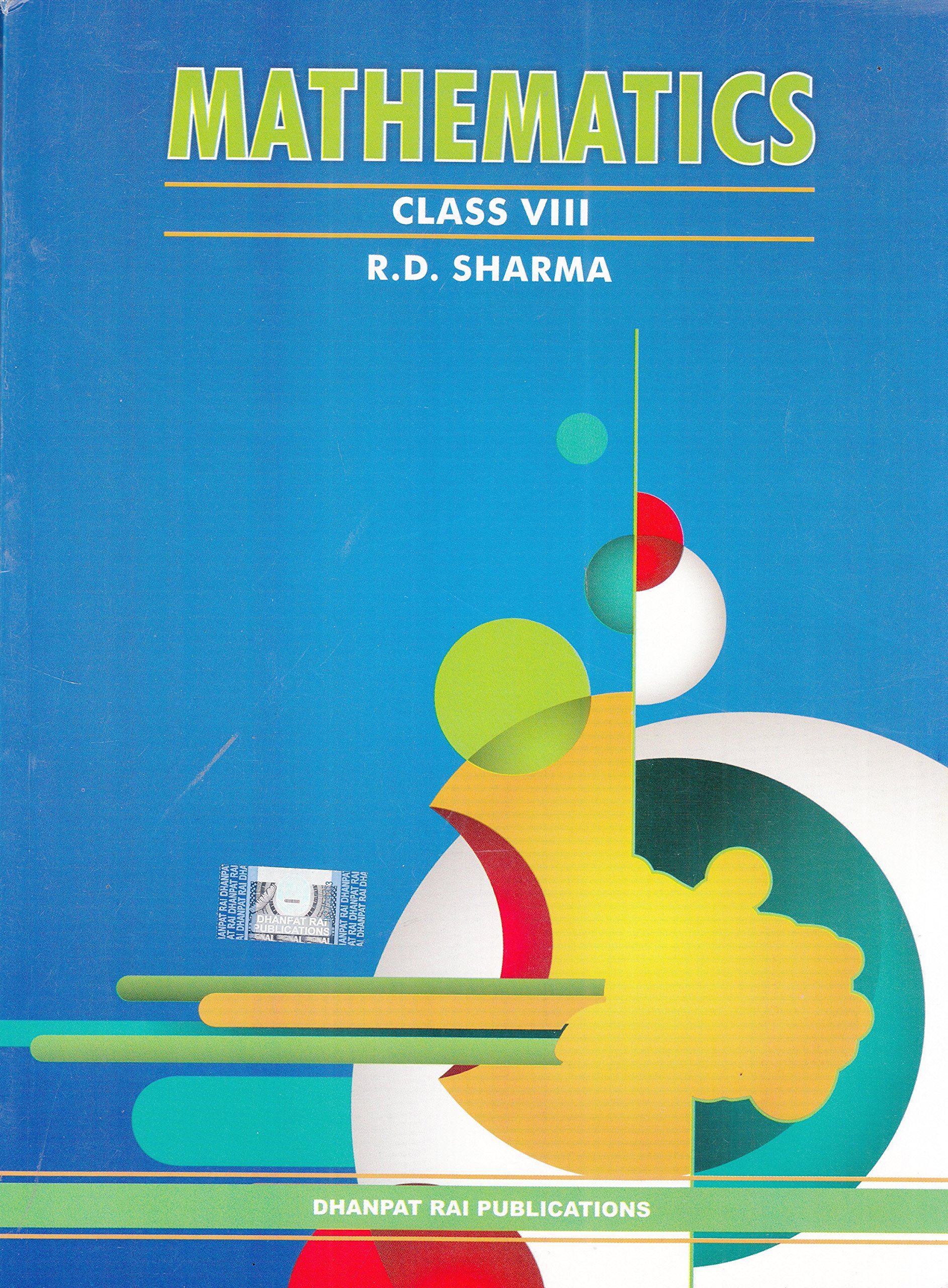 Mathematics For Class 8 by R D Sharma 2018-19 Session: Amazon.in ...