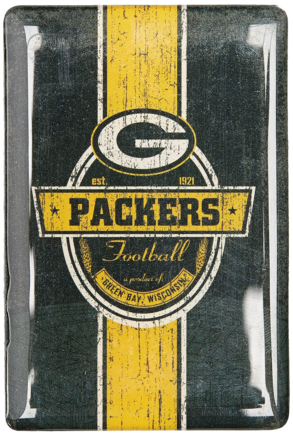 One Size NFL Green Bay Packers Fridge Magnet Green