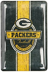 NFL Green Bay Packers Fridge Magnet, Green, One Size