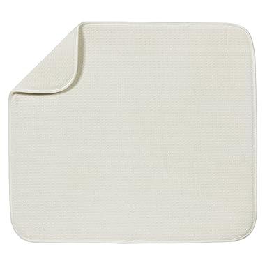 Schroeder & Tremayne Dish Drying Mat 16  X 18  Cream