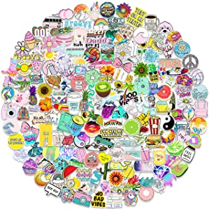 Stickers for Water Bottles 200 PCS, Funny Cute Stickers for Teens,Girls,Adults - Perfect for Waterbottle,Laptop,Phone,Hydro Flask