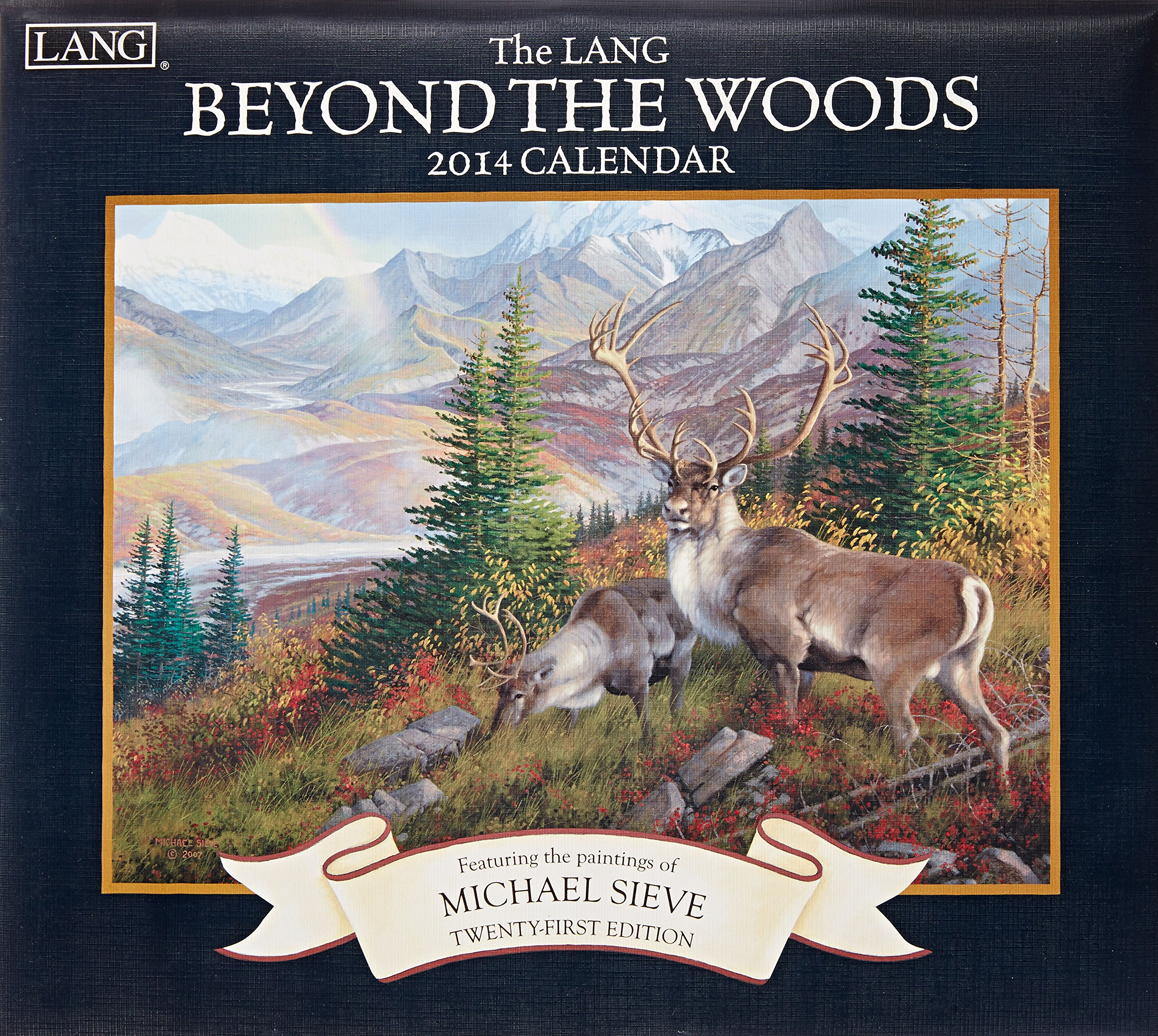 Lang Perfect Timing - Lang 2014 Beyond The Woods Wall Calendar, January 2014 - December 2014, 13.375 x 24 Inches (1001703) by LANG (Image #1)