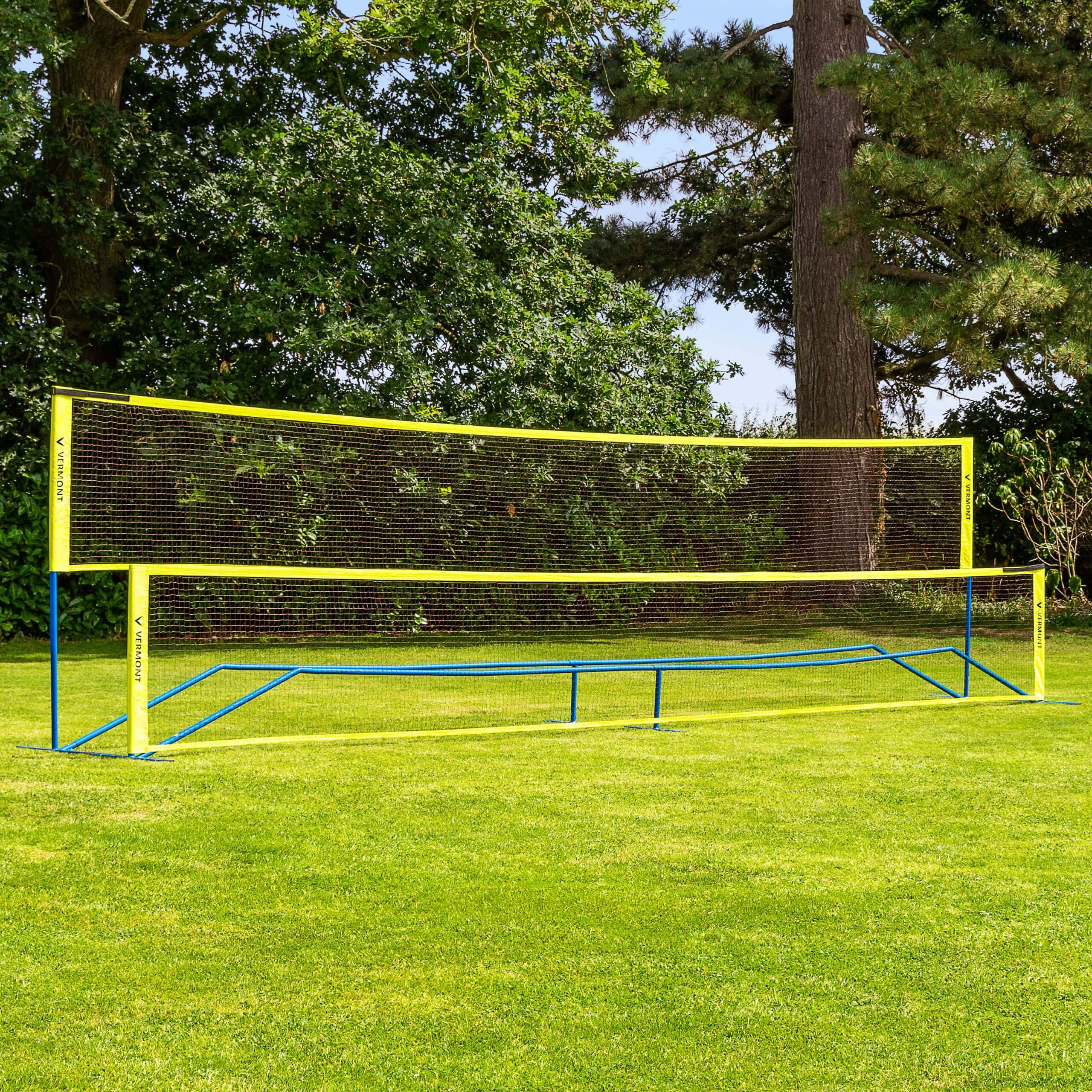 ProCourt Vermont Combi Net | Perfect for Tennis, Badminton, Pickleball, Volleyball & Soccer Tennis | Super Quick Assembly with Steel Poles | Use Indoors, Outdoors, On The Beach Or The Backyard! by ProCourt (Image #1)