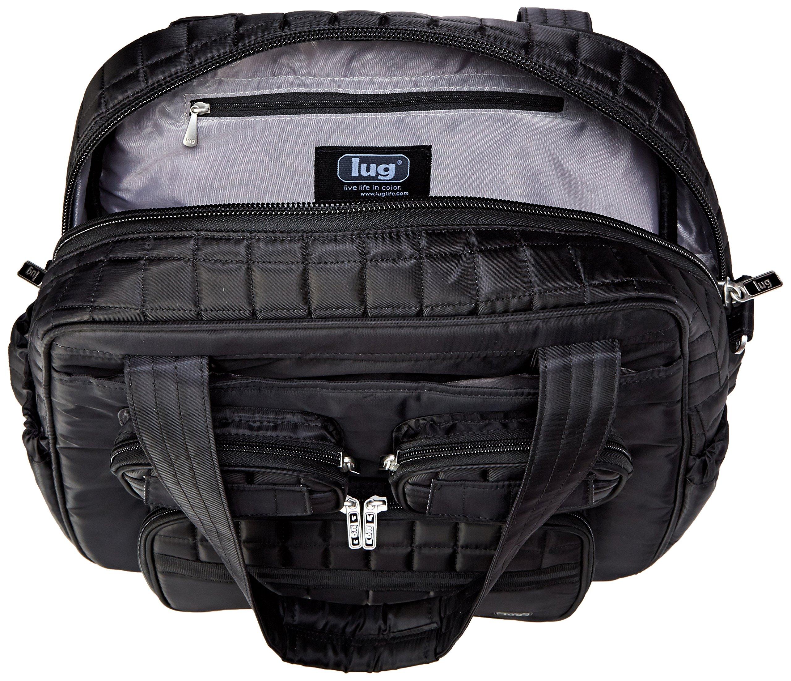 Lug Puddle Jumper Overnight/Gym Bag, Midnight Black by Lug (Image #5)