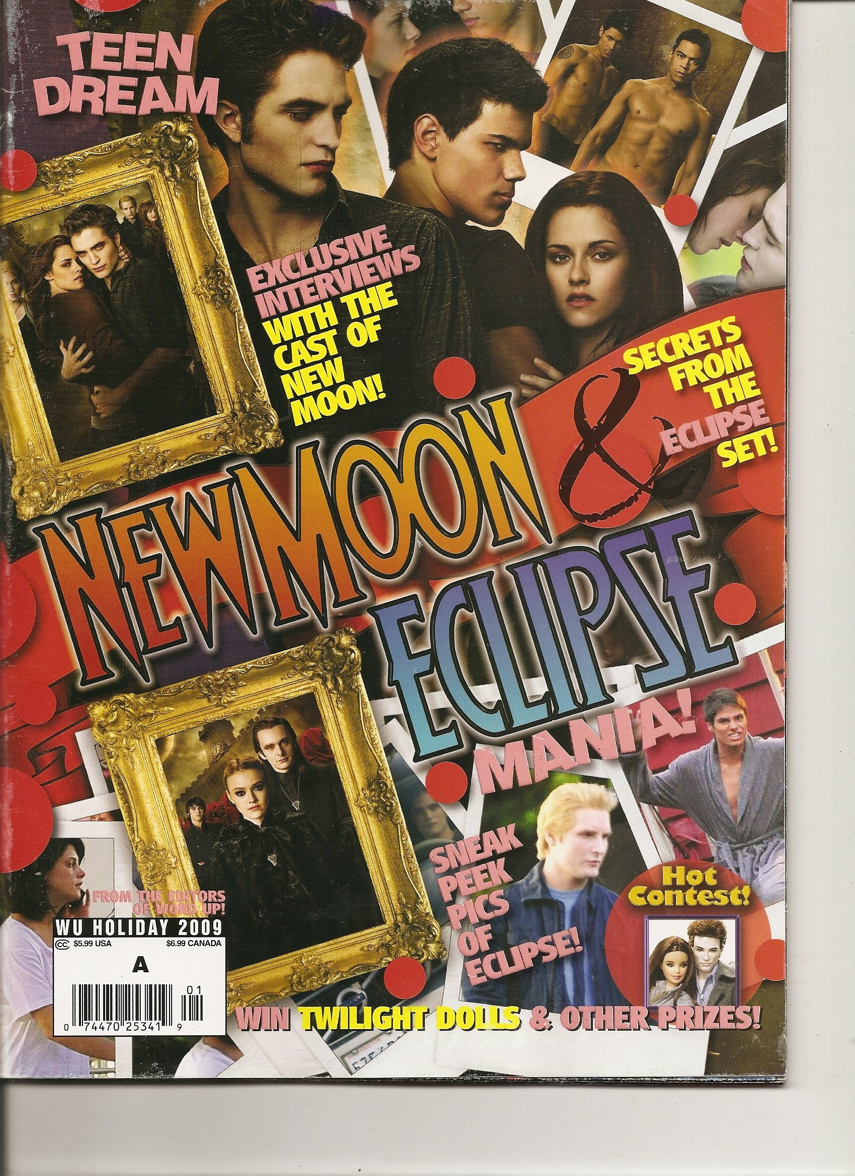 Download Teen Dream Magazine New Moon and Eclipse Mania (Exclusive interviews with the cast of NewMoon plus Secrets fom the Eclipse set, Holiday 2009) PDF