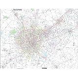 Amazon.com: San Antonio, TX ZIP Code Map Laminated: Home & Kitchen