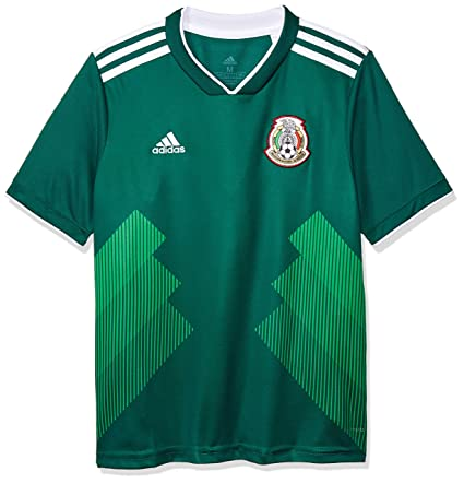 Amazon.com   Mexico Home KIDS Jersey 2018   2019   Sports   Outdoors 3c4698c9c