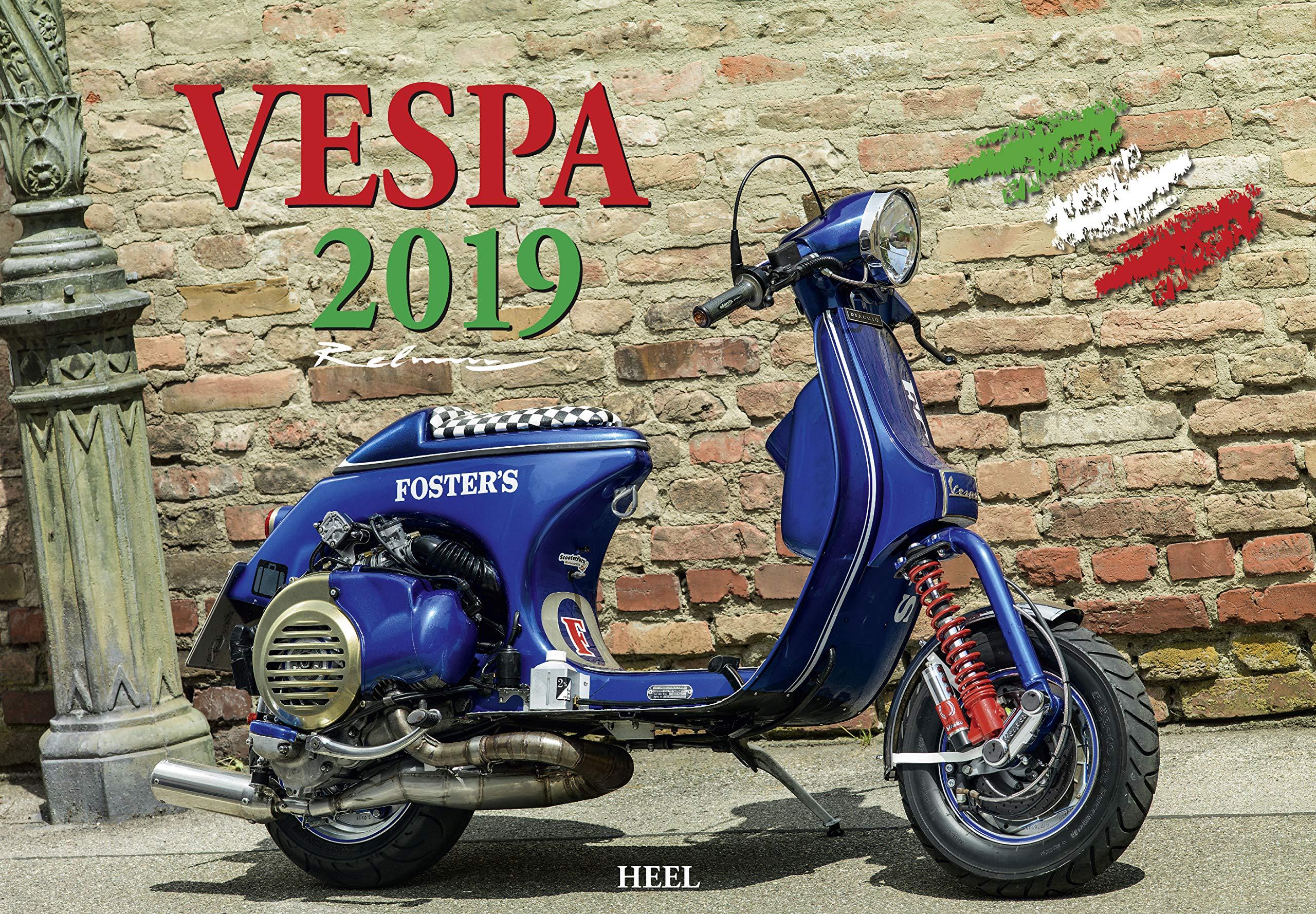 Calendario Vespa 2020.Vespa 2019 Italienischer Livestyle Auf Zwei Radern Amazon