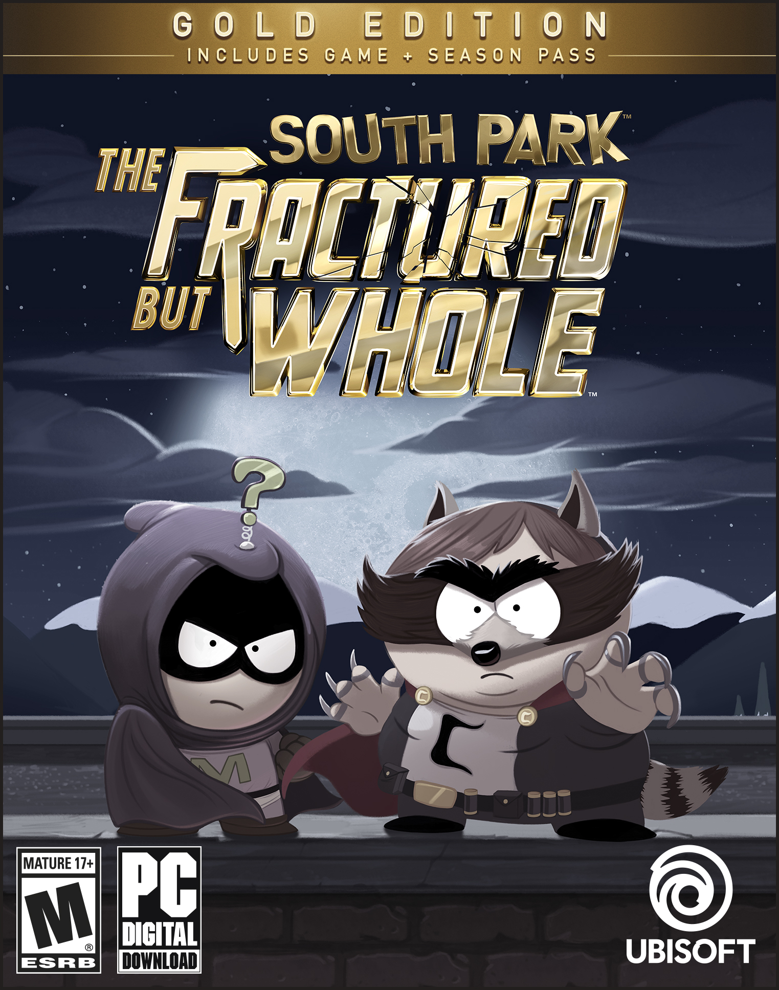 South Park: The Fractured but Whole - Gold Edition [Online Game Code] by Ubisoft