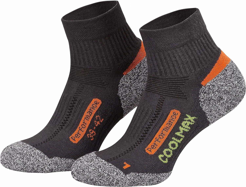 Coolmax Para actividades al aire libre Piarini 2 pares de calcetines de /última tecnolog/ía Varios colores